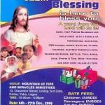 Visit Pastor Blessing This Christmas Season At MFM Headquarters