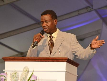 Adeboye prays