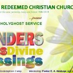"Prayer Points from The July 2013 Holy Ghost Service: ""The Wonders of Divine Blessings"" By Pastor E. A. Adeboye"