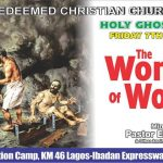 Transcript of RCCG JUNE 2013 Holy Ghost Service – THE WONDERS OF WORSHIP – Pastor E. A. Adeboye