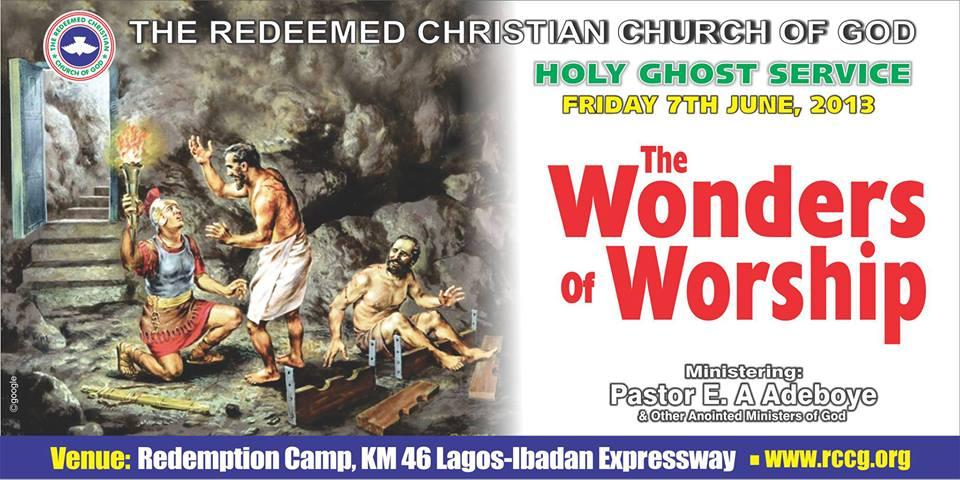 June 2013 Holy Ghost Service