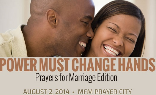21 Prayers for Marriage – Power Must Change Hands (PMCH