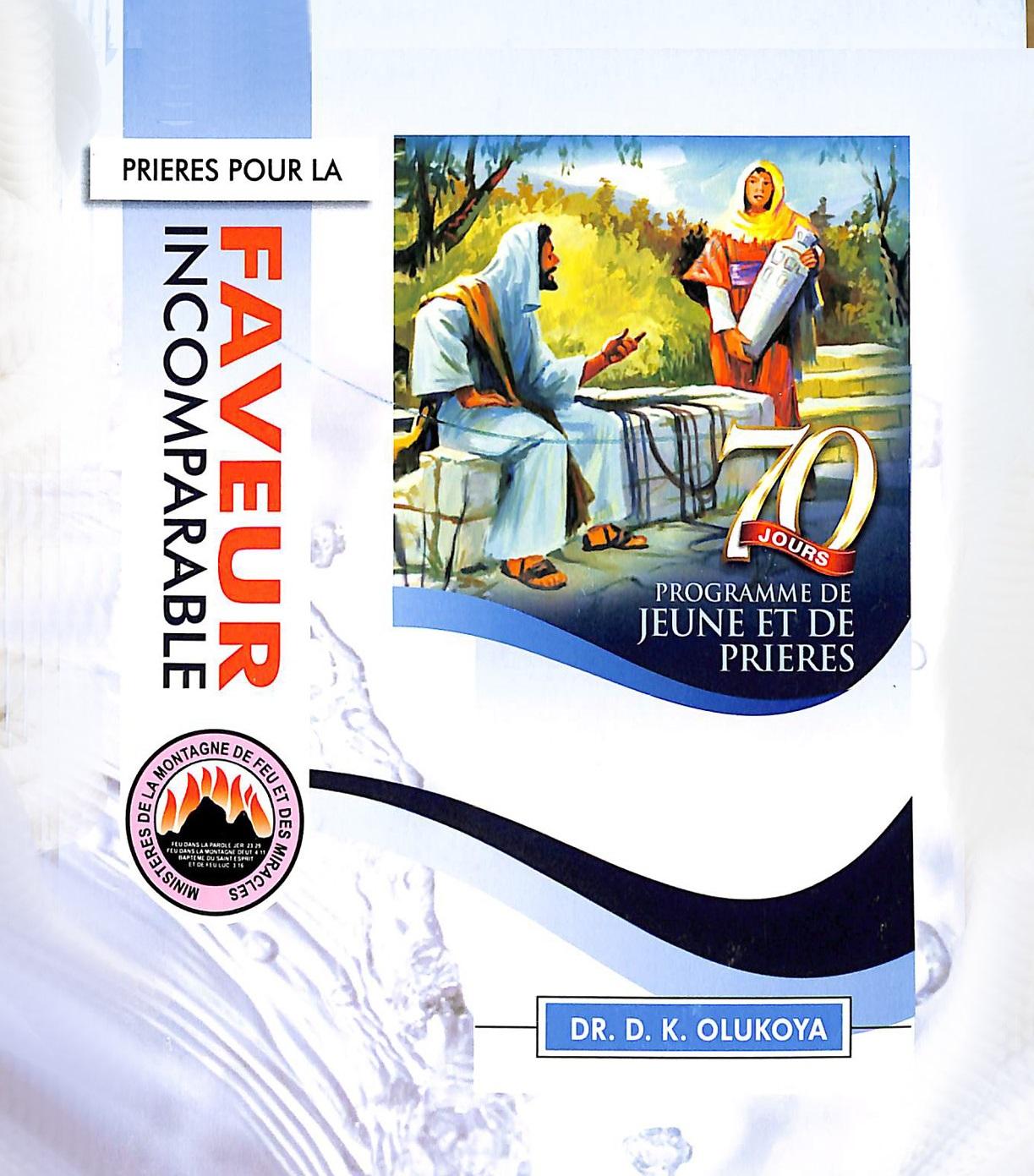 MFM 70 DAYS FASTING AND PRAYER PROGRAMMED BOOKLET