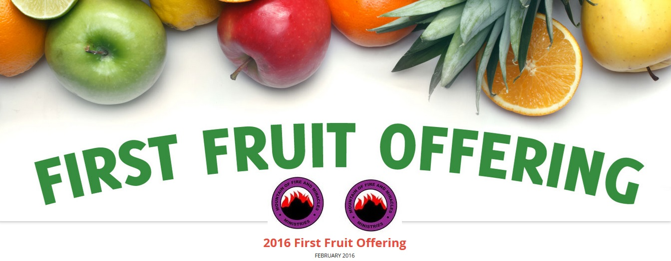 12 Prayers To Pray on your First Fruit Offering – Dr Daniel