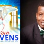 THE ALMIGHTY GOD – Open Heavens Devotional (Monday September 12th 2016) – By Pastor E. A. Adeboye