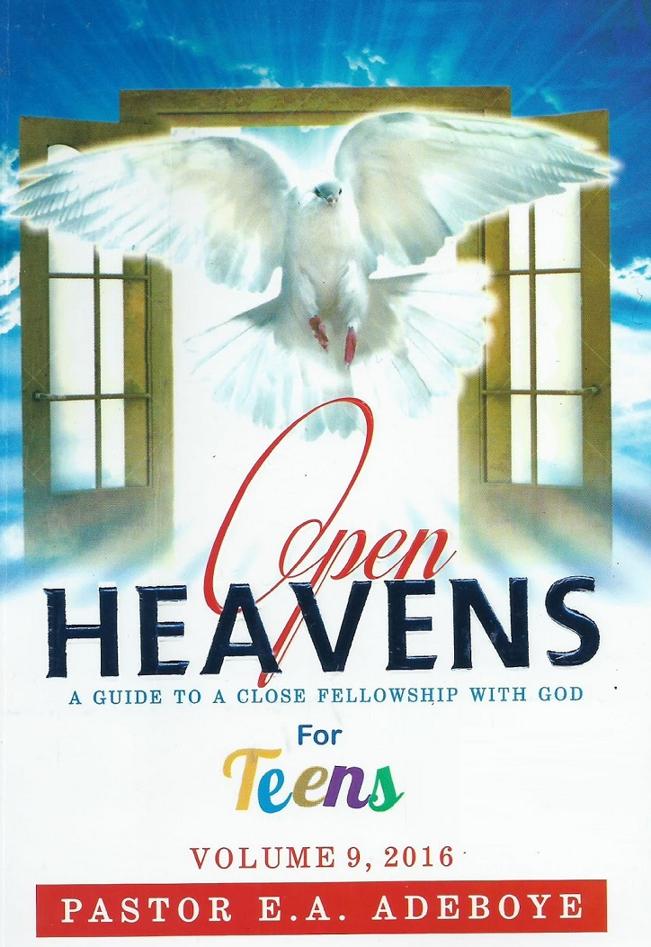 TEENS Open Heavens Daily Devotional: Prayer And Joy