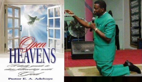 Open Heavens Prayer Points