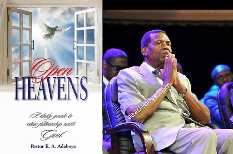 Open Heavens Prayer Points .