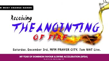 ANOINTING FIRE SERVICE PMCH MFM