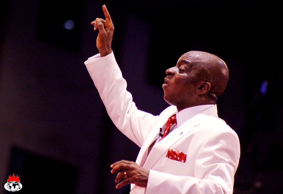 BISHOP DAVID OYEDEPO OF FAITH TABERNACLE