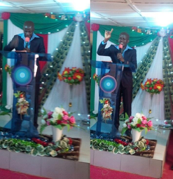 PASTOR ABIOUDUN DISU MINISTERING