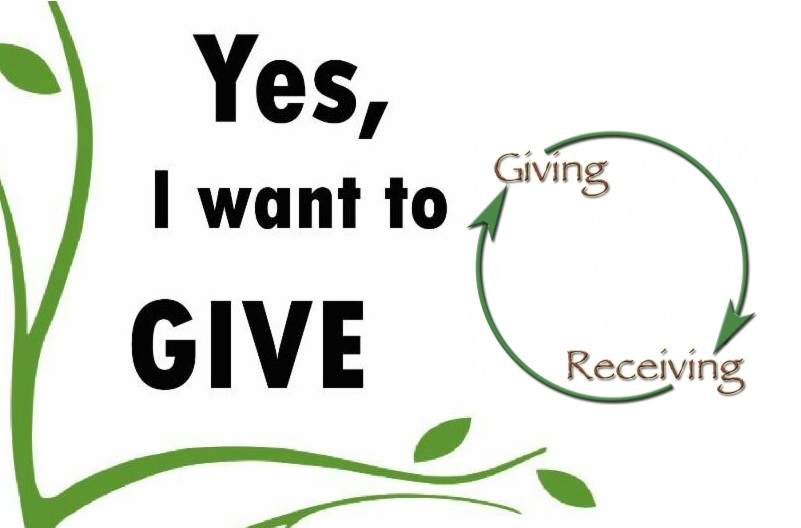 GIVING AND RECEIVING - A DISCUSSION